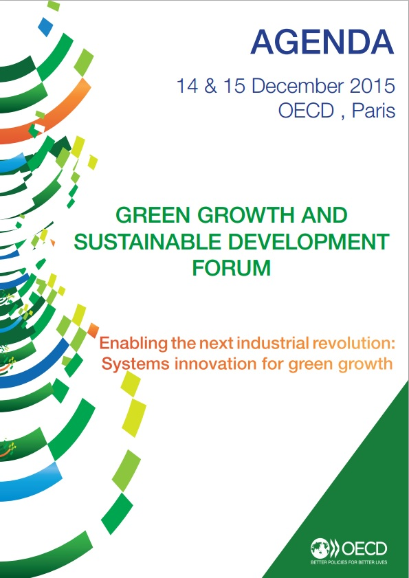 "Representatives of the Institute ""Cadaster "" took part in the forum of the OECD ""Green Growth and Sustainable Development"" held in Paris"