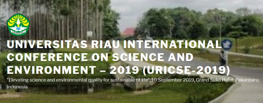 "Our experts took part in the International Conference on Science and Environment ""Elevating Science and Environmental Quality for Sustainable of Life"" (URICSE-2019)"