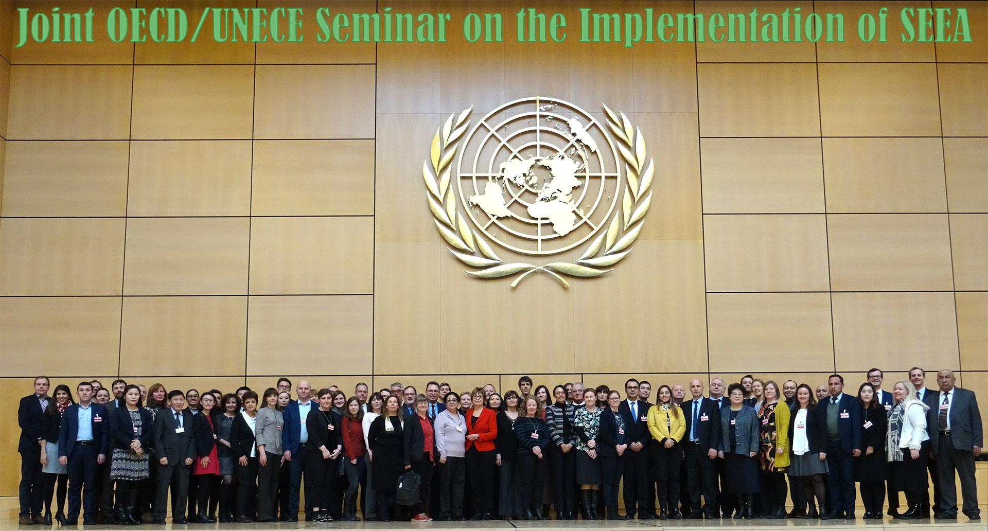 Our experts made a presentation at the 3rd Joint OECD/UNECE Seminar
