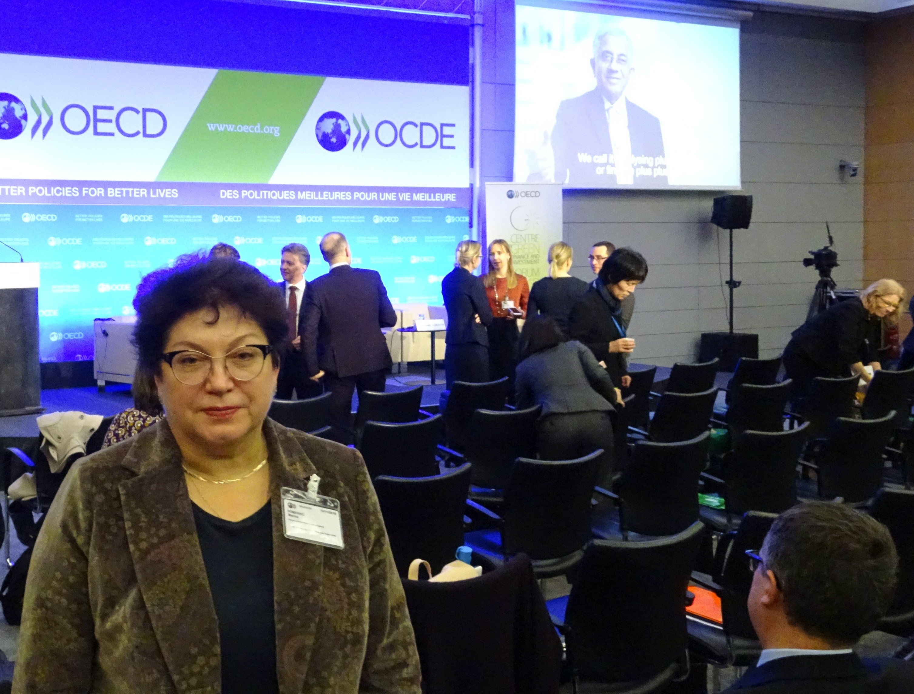 OECD Forum on Green Finance and Investments was held in Paris